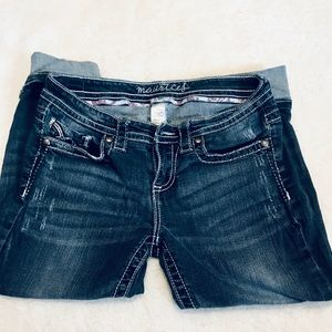 Cropped jeans size 7 / 8 regular